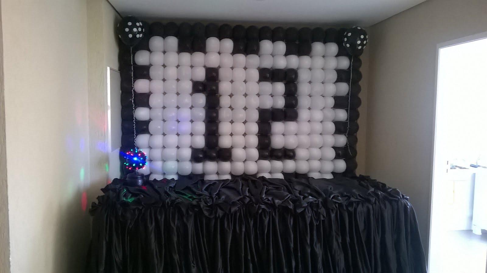 Painel balão 12 anos