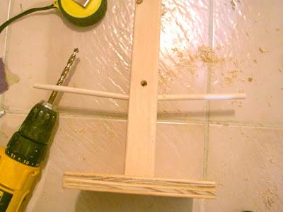 how to make a wood dowel tree