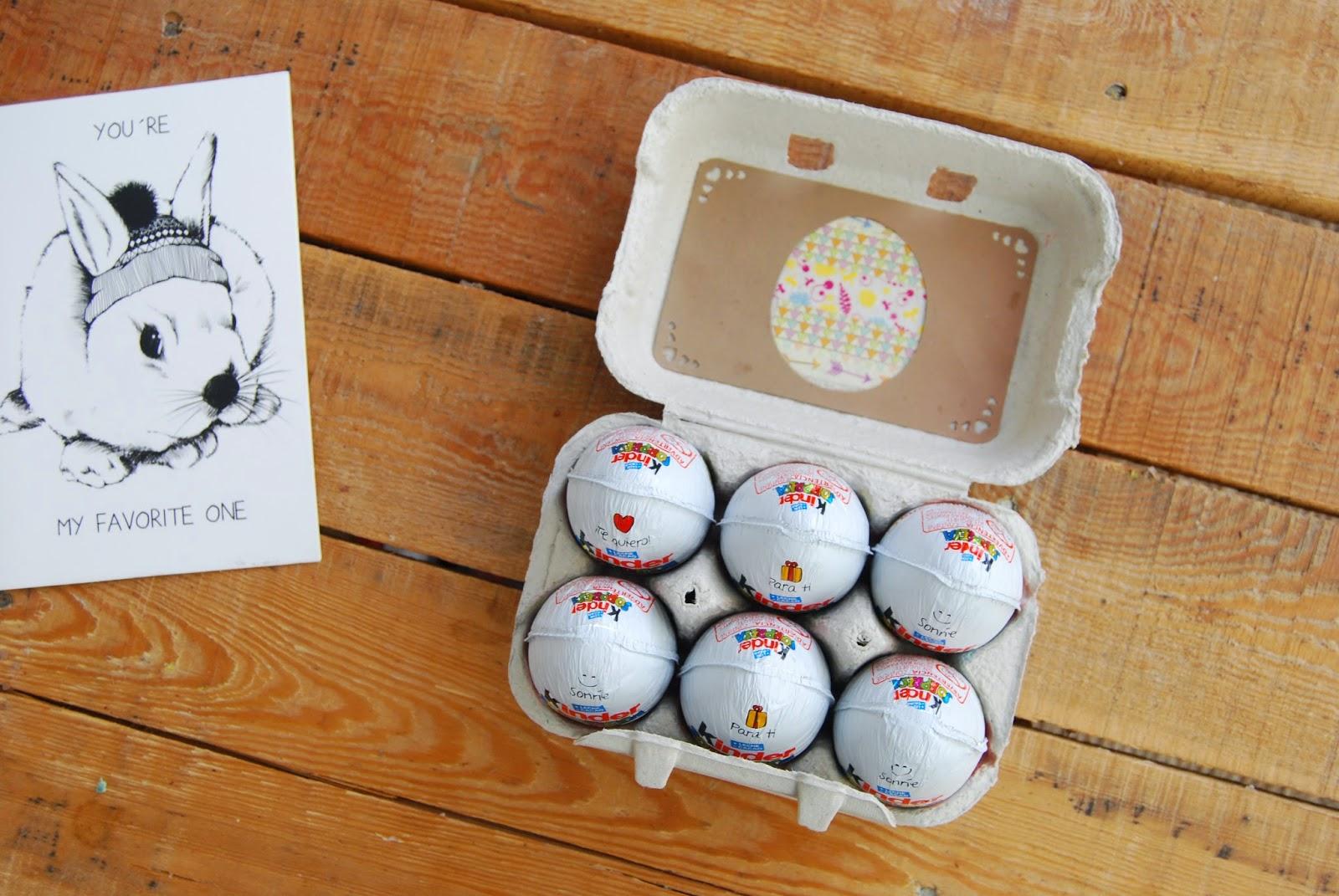 Tutorial caja de huevos para Pascua