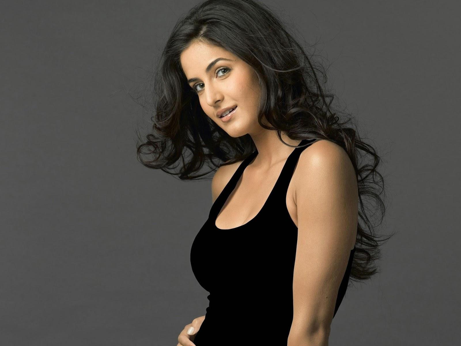 Katrina Kaif in Black Dress Image