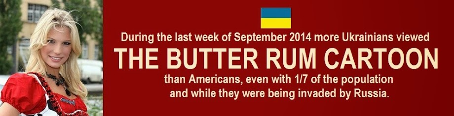 The Butter Rum Cartoon
