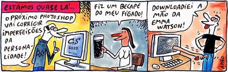 Adão Iturrusgarai: Print Shop.
