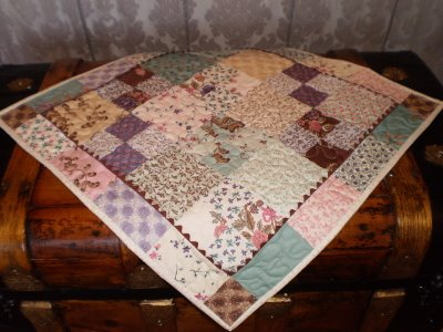 Quilted Table Toppers Pattern Round Free Quilt Pattern
