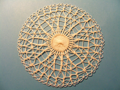 Tennerife lace doily