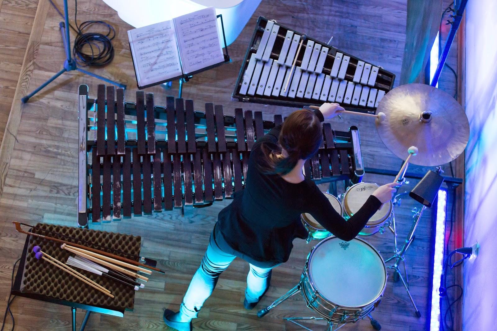 Aleksandra Dzwonkowska of Ensemble Sepia - photo Peeter Larvits