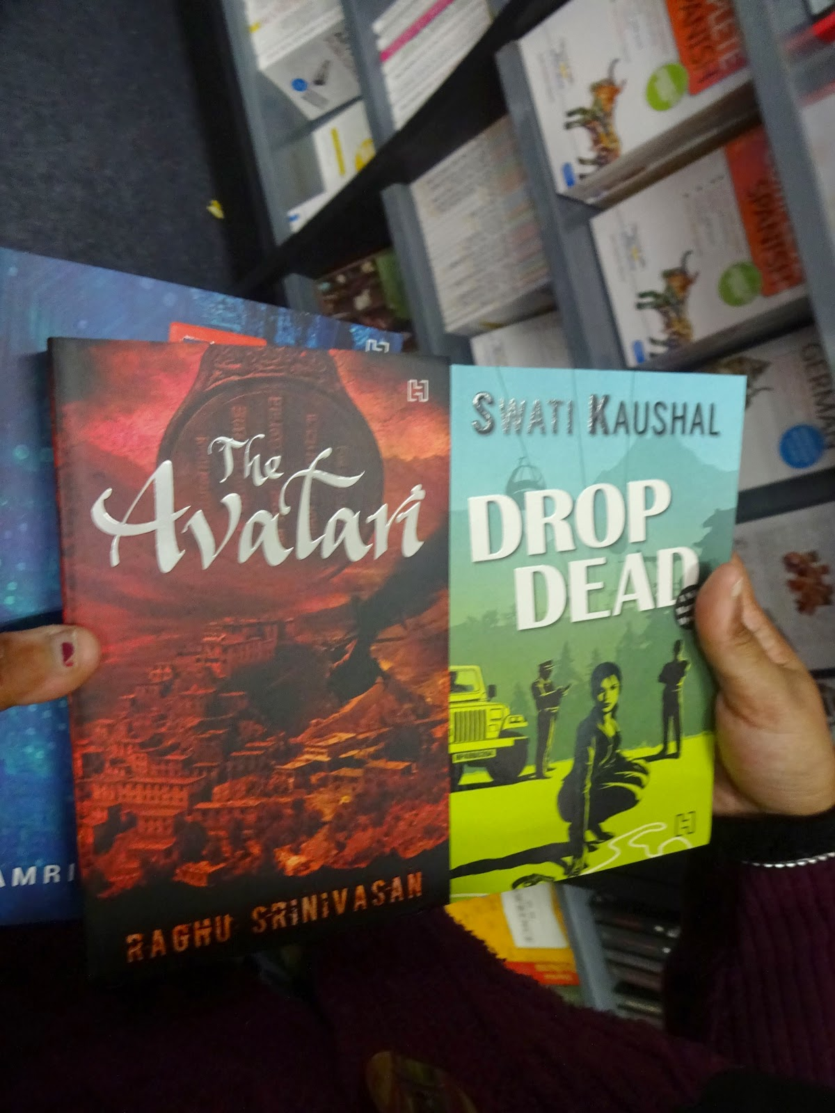fun at the new delhi world book fair and stacking the shelves some new finds that i am eager to