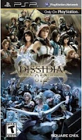 Dissidia 012, Final Fantasy, psp, box, art