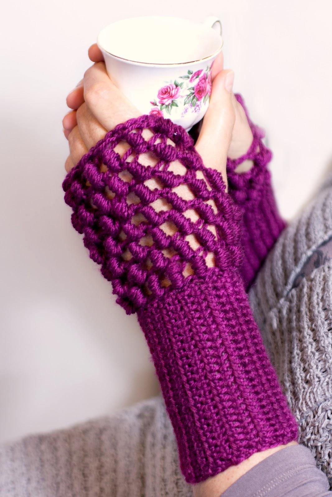 Fingerless gloves how to make - Hope