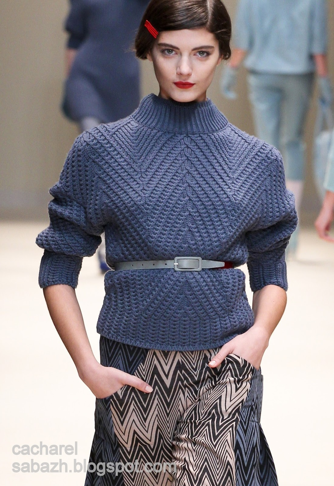 Вязаная Одежда Женская Мода 2013
