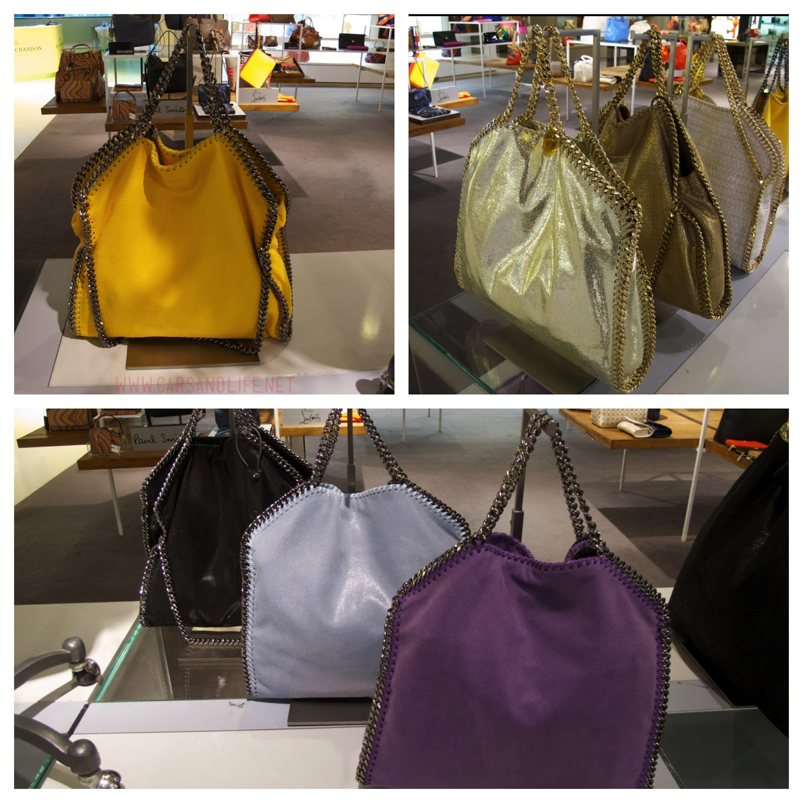 Stella McCartney Fallabella shoulder bags from Selfridges. Last week f09d2a8b6fce6