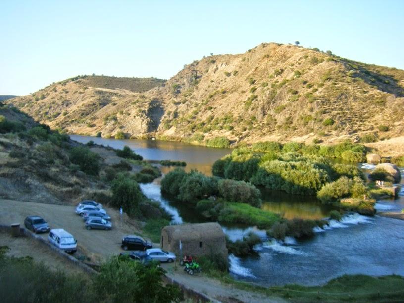 Rio Guadiana nas Azenhas a montante