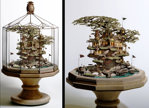 00-Hawaiian-Pineapple-Resort-Japanese-Artist-Takanori-Aiba-Bonsai-www-designstack-co