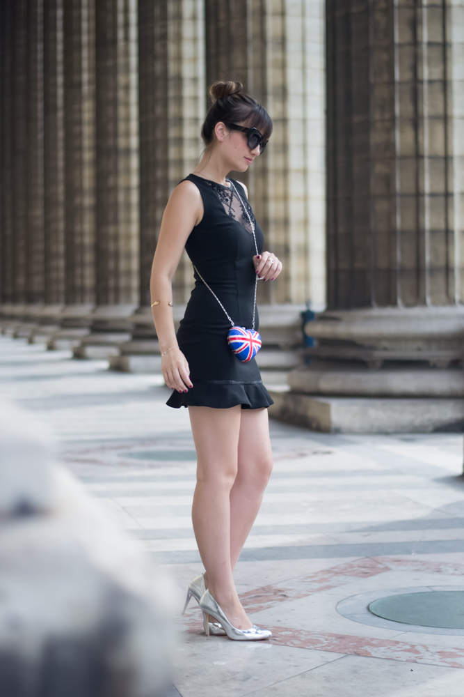Chic Parisian style, Look, blogger, Meet me in paree, Little black dress