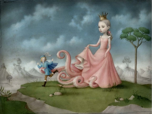 25-Dangerous-Liaisons-Nicoletta-Ceccoli-Surreal-Fairy-Tales-NOT-for-Children-www-designstack-co