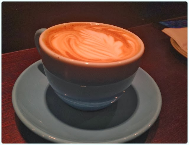 Caffeine and Co Manchester - Flat White