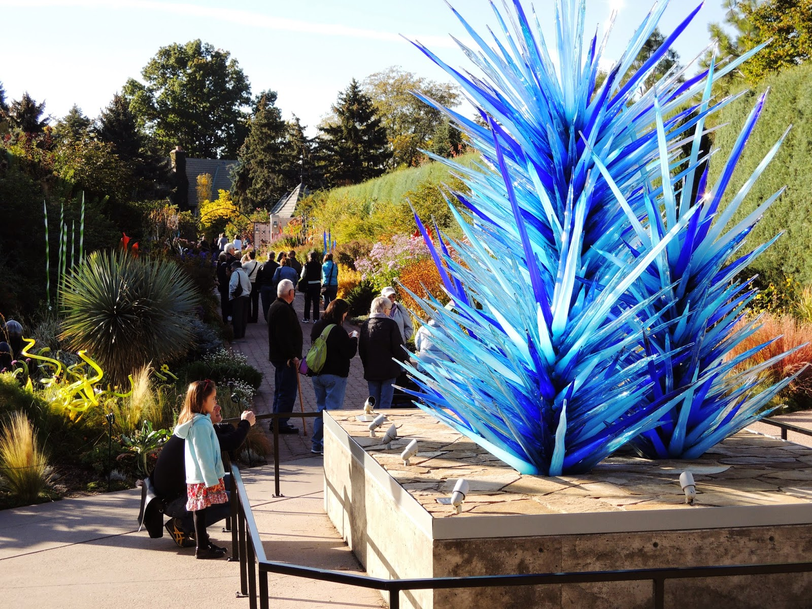 Dale Chihuly, Denver Botanic Garden, glass art