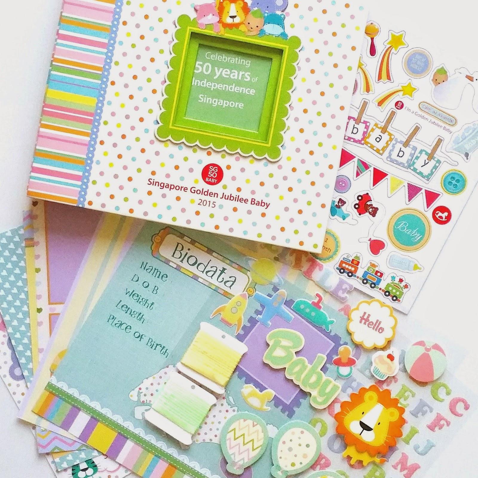 Scrapbook ideas singapore - Sg50 Baby Scrapbook Album And Multi Photo Frame
