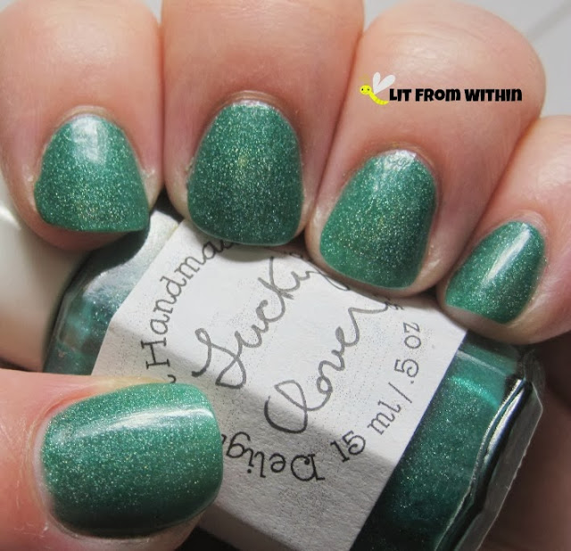 Delightful Handmade Lacquers Lucky Clover