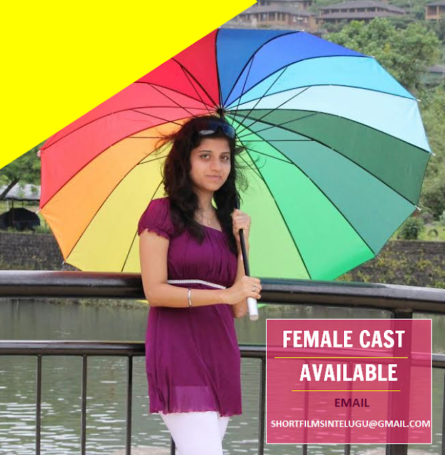 FEMALE LEAD ACTRESS READY FOR CASTING IN SHORT FILMS