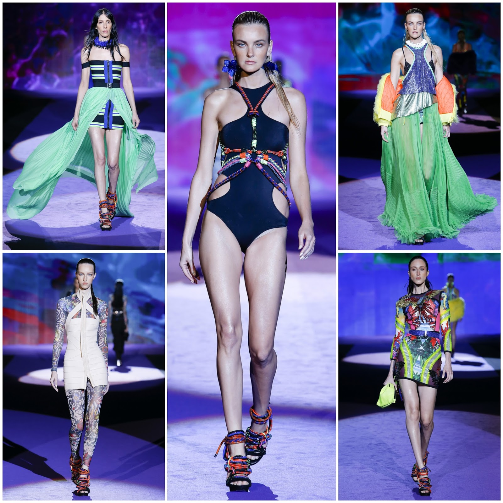 134f76a1e21a7e Milan Fashion Week Spring 2015: DSQUARED2 Spring/Summer 2016 Photos + Full  Runway Show Video!