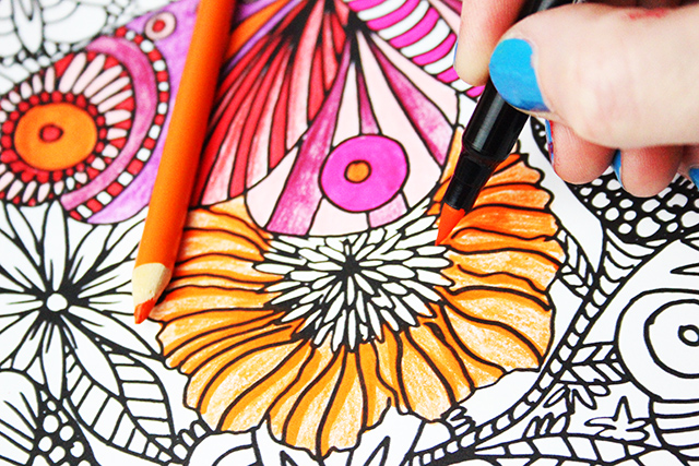 my favorite ways to color and a free coloring download | alisaburke ...
