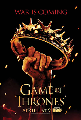 Game of Thrones Season 2 Teaser Television Poster - War Is Coming