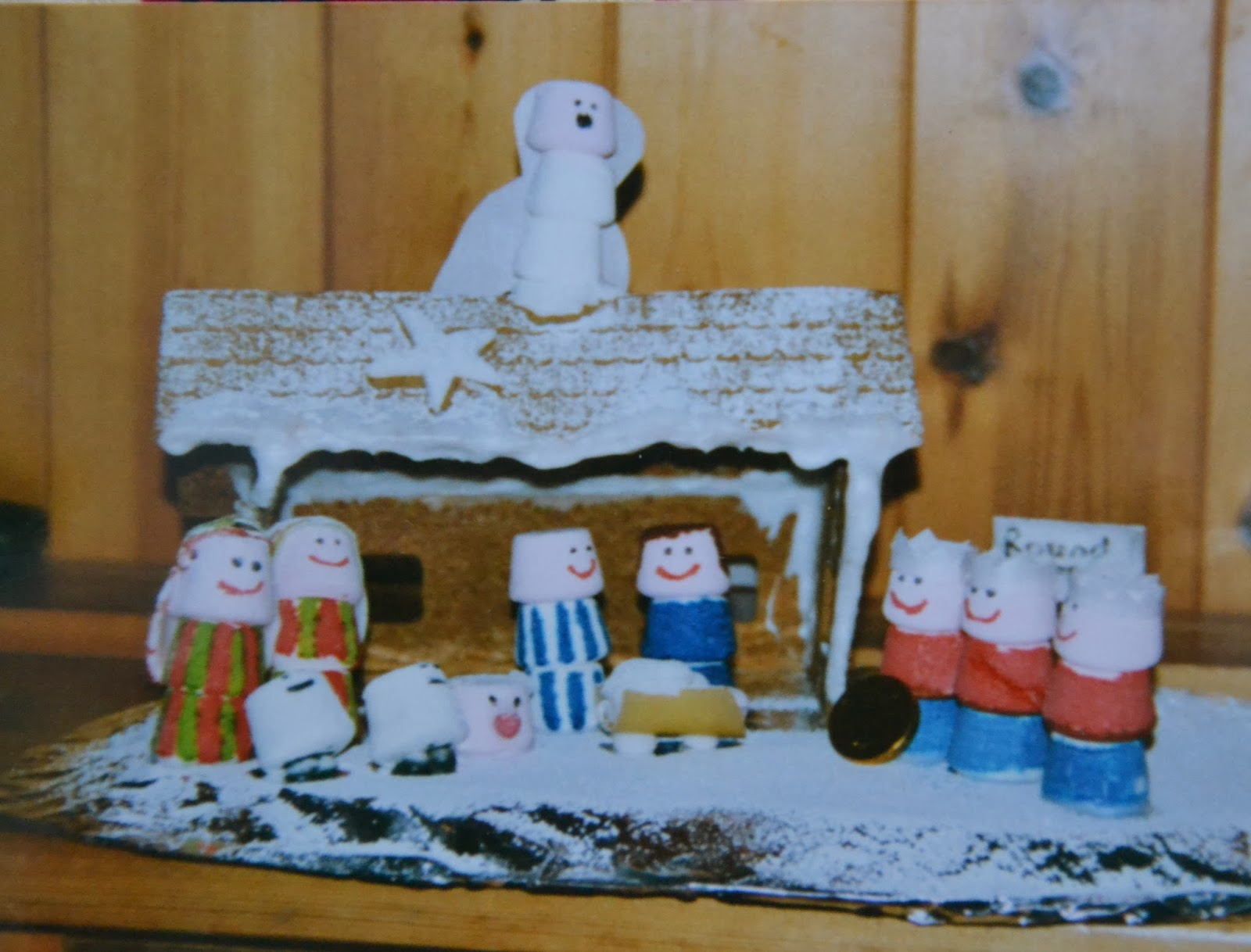 Throwback Thursday gingerbread houses
