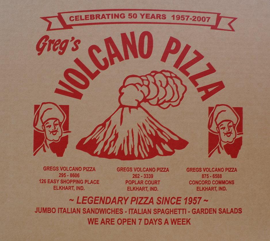 Volcano's Pizza
