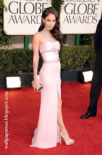 Megan Fox attends the 68th Annual Golden Globe Awards in Beverly Hills, CA on January 16, 2011