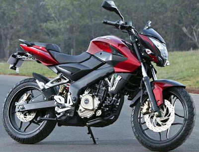 New Bajaj Pulsar 200NS 2012
