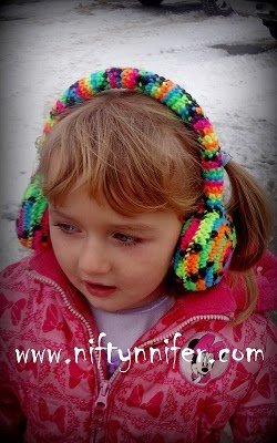 Niftynnifers Crochet & Crafts: Free Crochet Ear Muffs ...