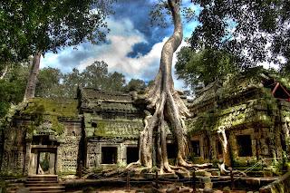 Ta Prohm, Cambodja