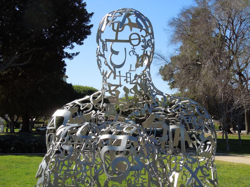 Jaume Plensa Endless V sculpture