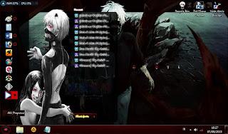 Tokyo Ghoul – Windows 7 Theme 5