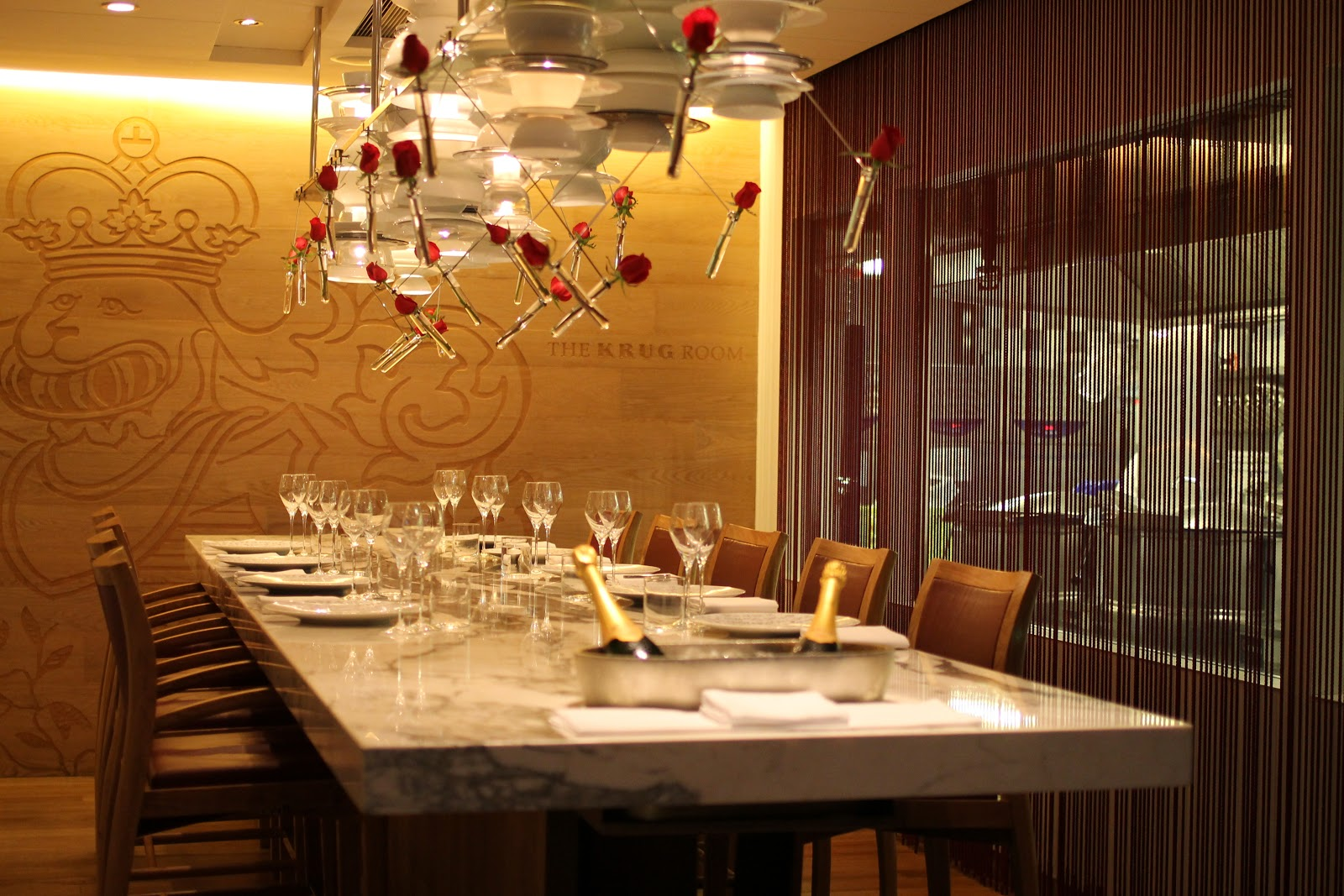 An enigma the krug room hungry su all about hong kong for Best private dining rooms hong kong
