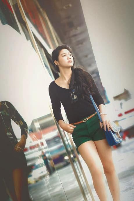 Hot girl Gia Mẫn - Girl xinh 1999 với nickname Pood Su, anh hot girl