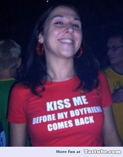 Kiss me Before my Boyfriend Comes Back
