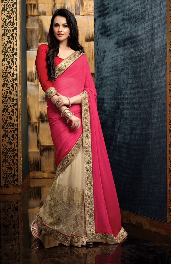 Indian Designer Are Making Bridal Sarees Which Lighter And Perfect For Easygoing Events