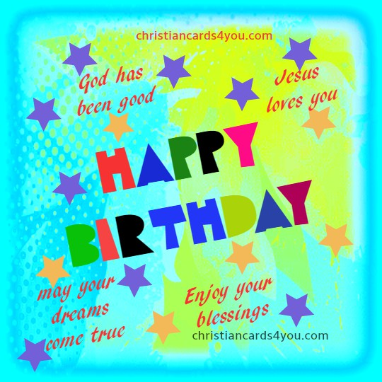 Nice Birthday Christian Card Quotes – Birthday Card with Quotes