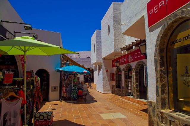 Gran Canaria, Bahia Feliz, wakacje, centrum handlowe