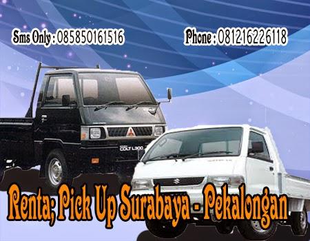 Rental Pick Up Surabaya - Pekalongan