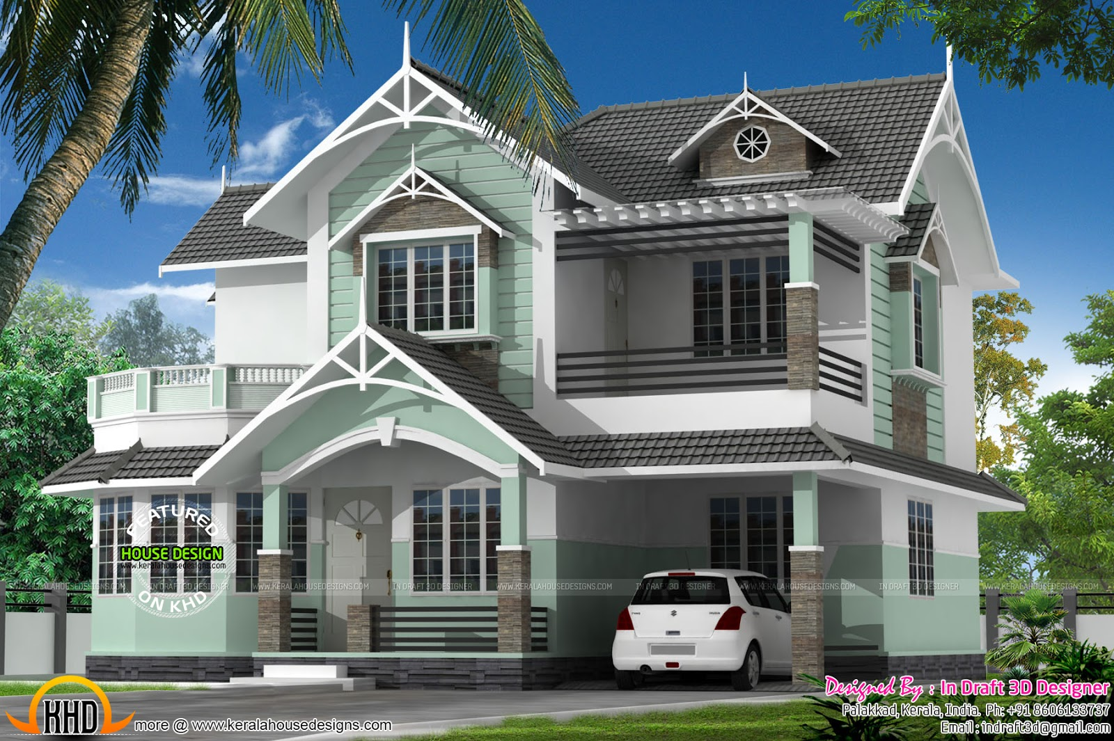 Classic Home In 2025 Square Feet Kerala Home Design And