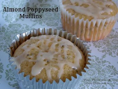 Almond Poppyseed Muffins