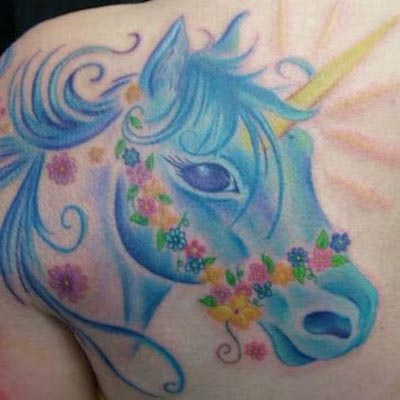 Best Of Unicorn Tattoos