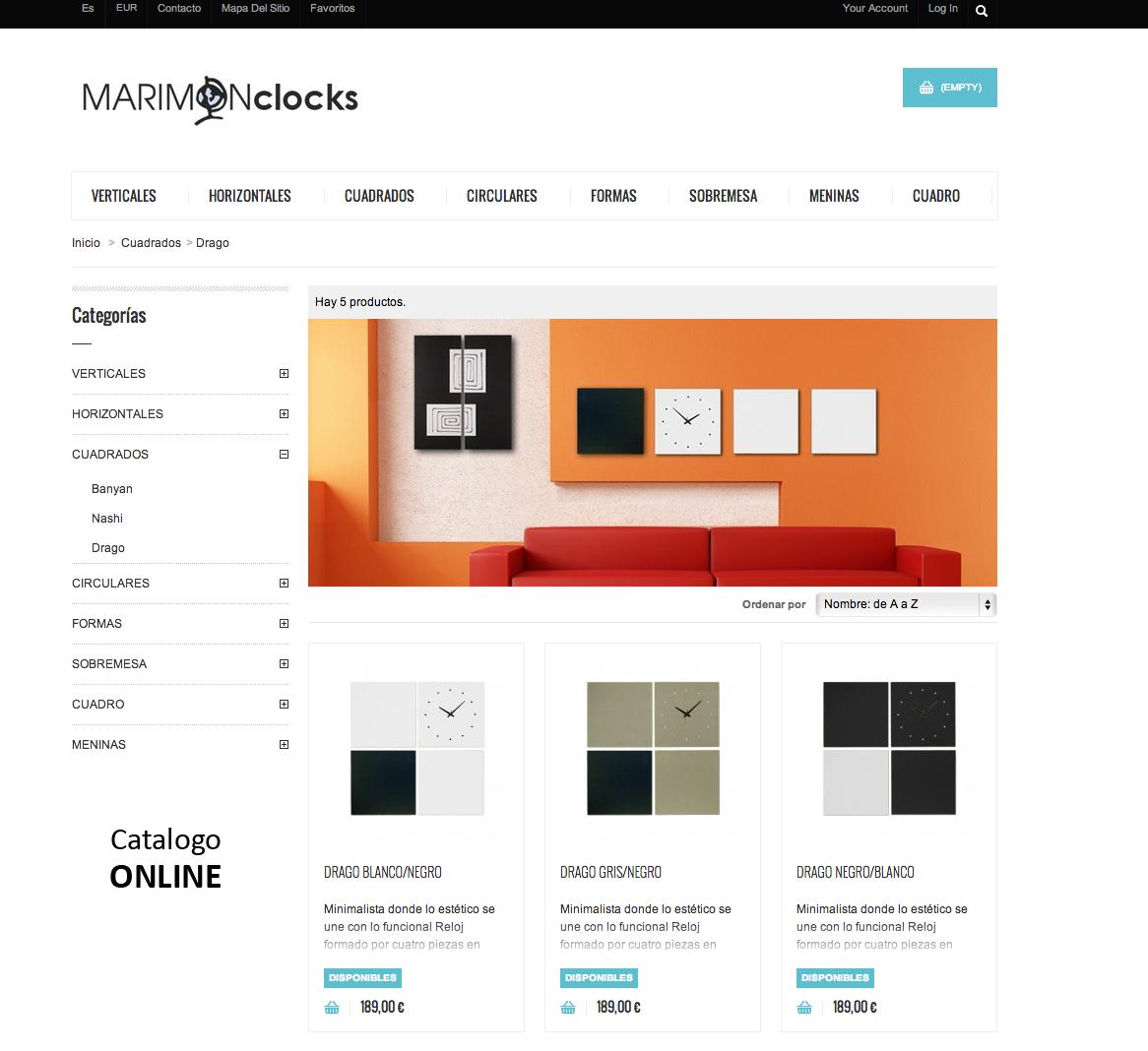Relojes de Pared: Tienda Online Relojes Marimon