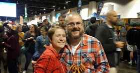 Stevie and I at The Great American Beer Festival - Ask Your Dad Blog