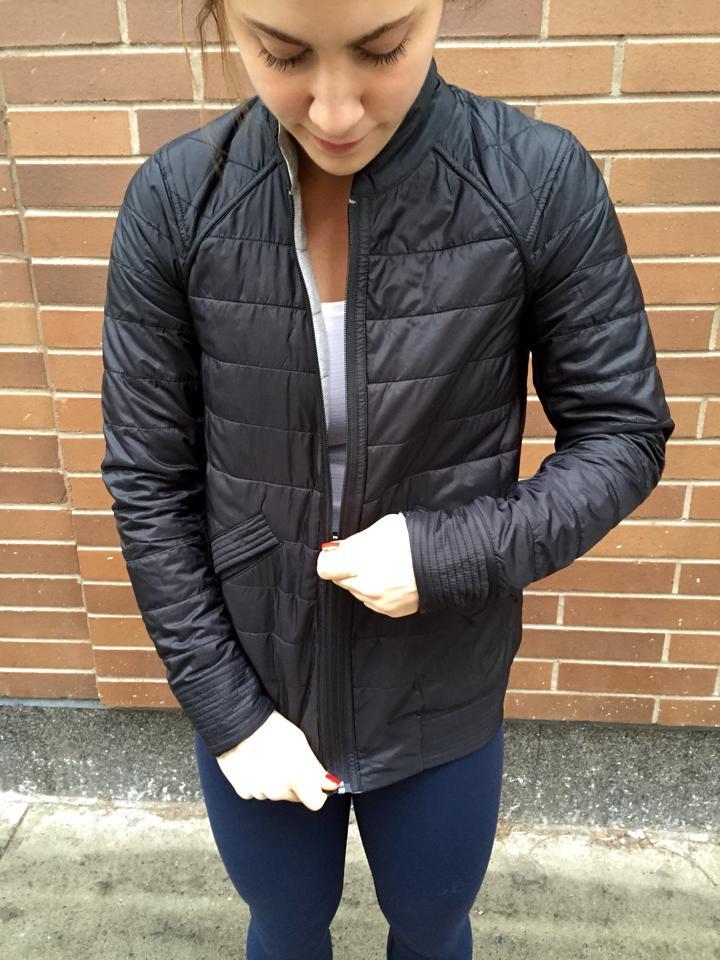 lululemon bomb bomber jacket