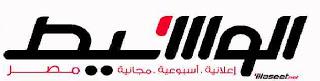 وظائف جريدة الوسيط القاهرة الجمعه 11/1/2013