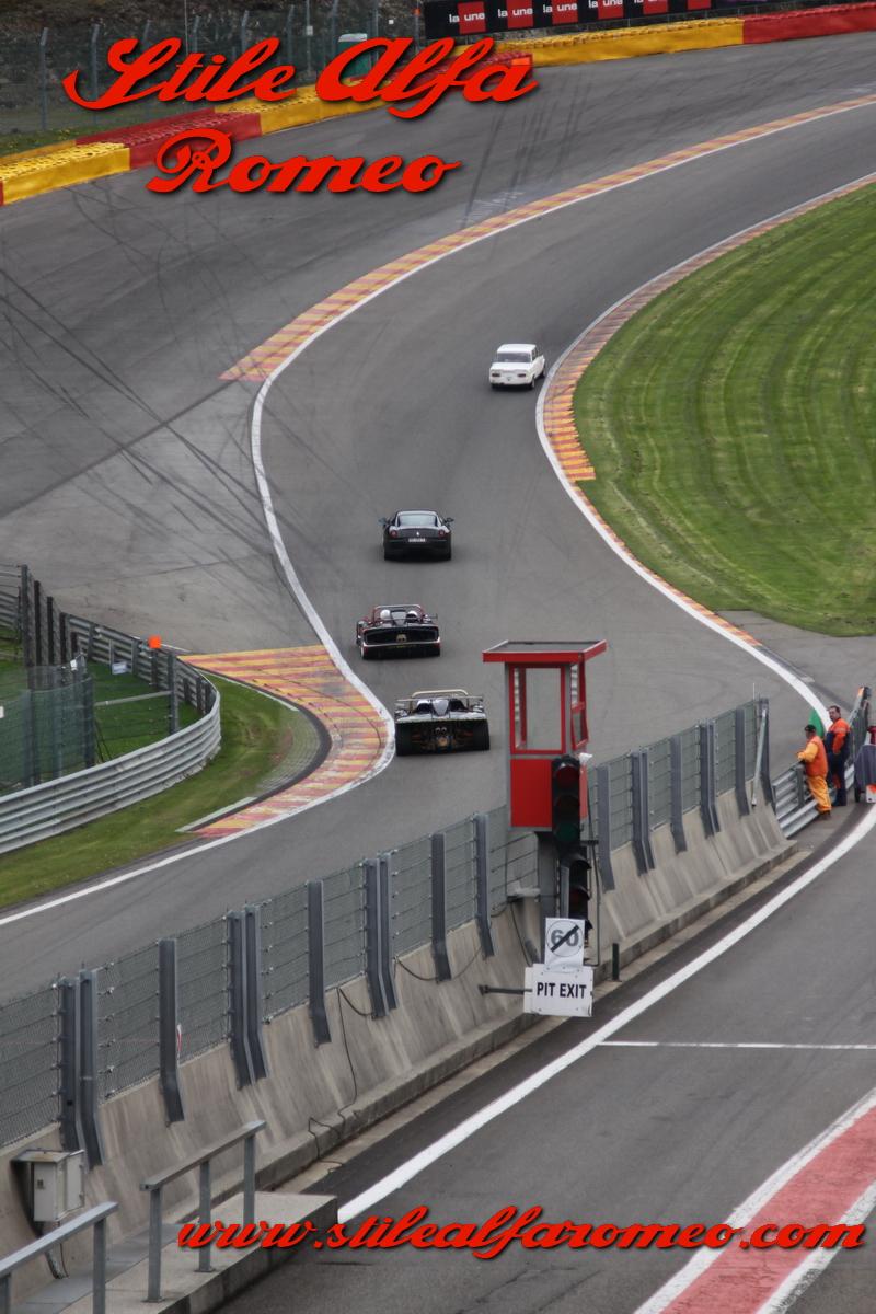 Circuito Spa : Stile alfa romeo: spa italia circuito di spa francorchamps 28