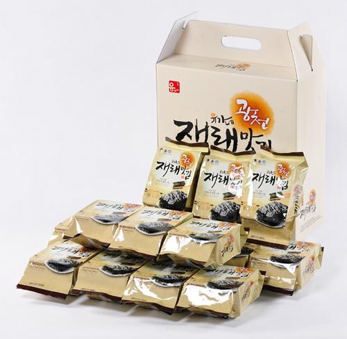 Korean Roasted Seaweed Laver